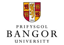 Prifysgol Bangor logo